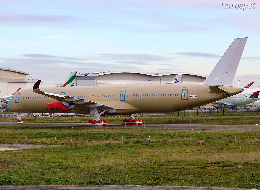 F-WZGN Airbus A350-1000 Virgin Atlantic