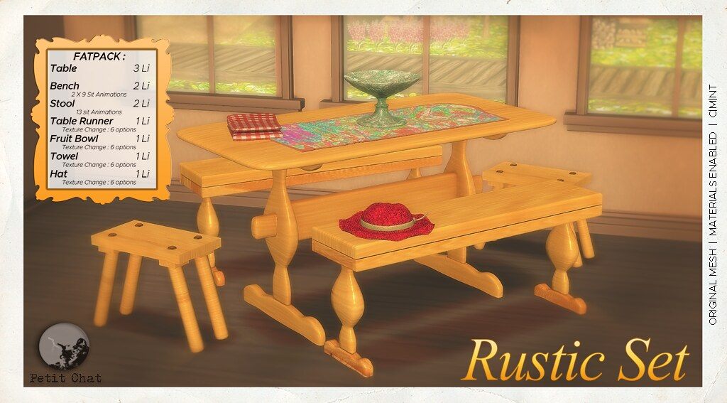 Rustic Set @ Versus event - TeleportHub.com Live!