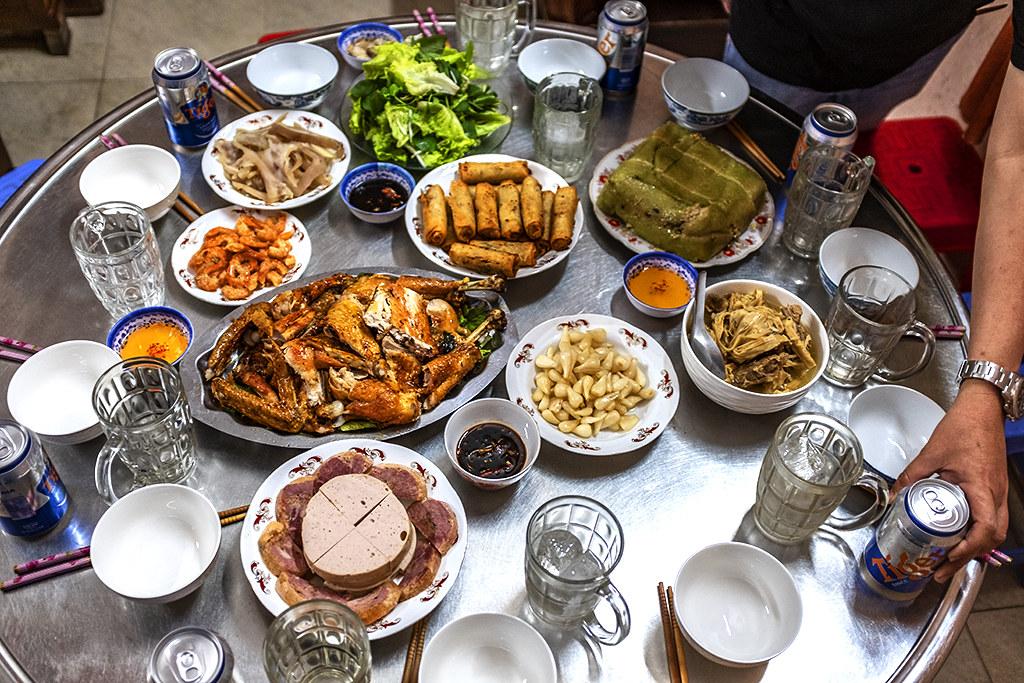 Tet meal--Binh Chanh
