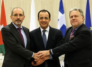 Τριμερής Υπουργική Συνάντηση Ελλάδας-Κύπρου-Ιορδανίας (Λευκωσία, 19 Δεκεμβρίου 2018)