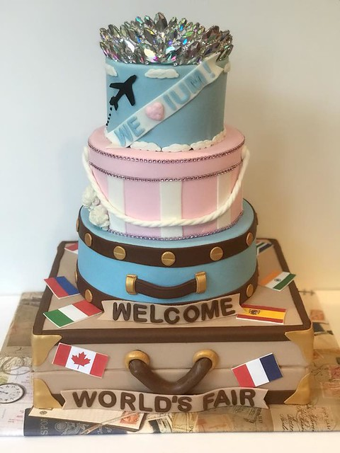 Travel Cake from Cakes By Maria G.