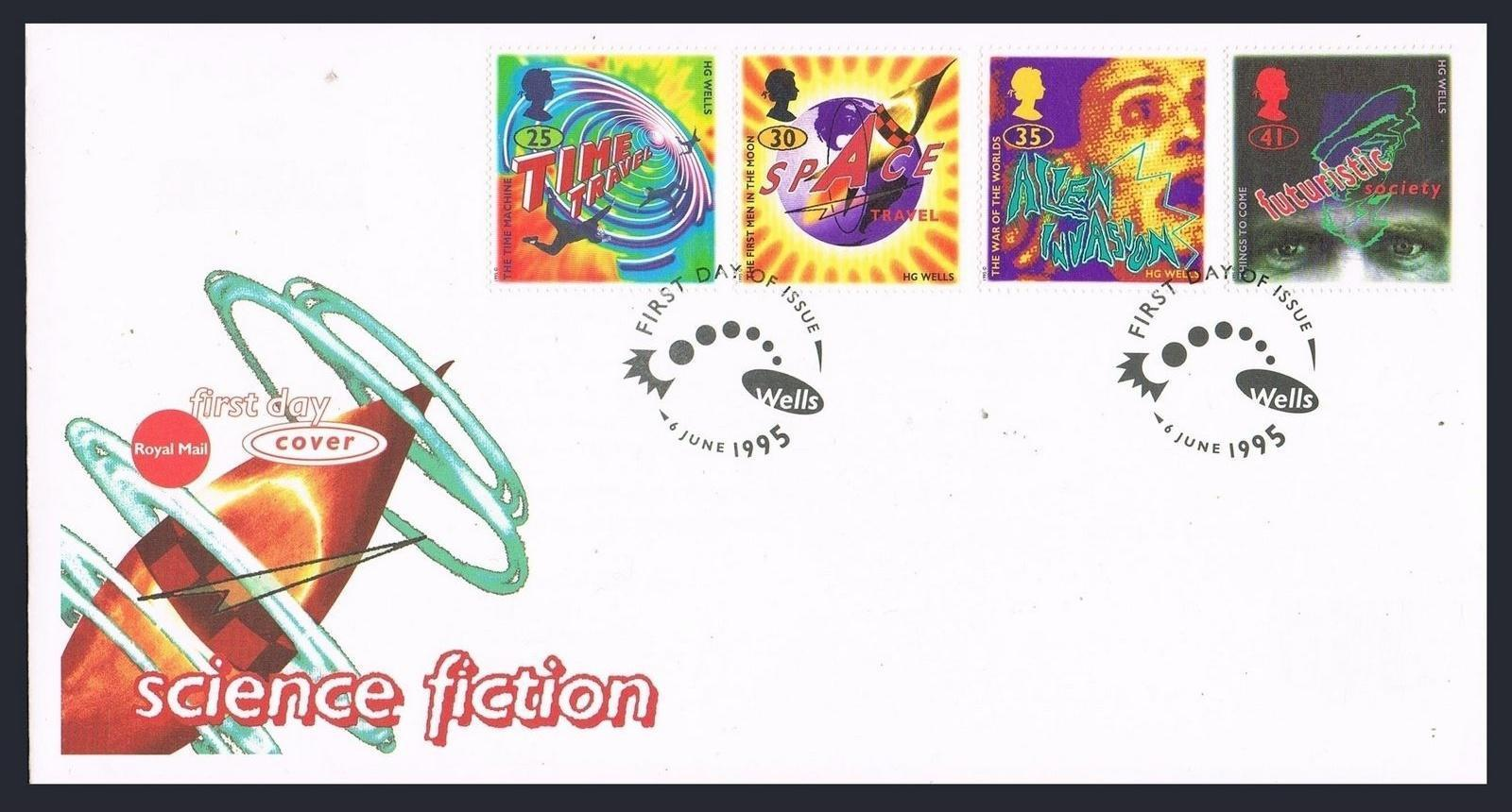 Great Britain - Scott #1616-1619 (1995) first day cover