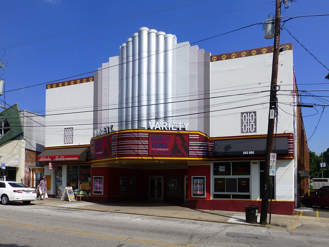 Atlanta, GA Variety Theater, Panasonic DMC-ZS19