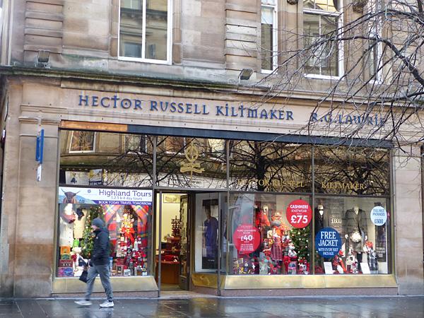Hector Russell kiltmaker