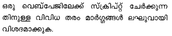 Plus Two Computer Application Model Question Papers Paper 1Q30