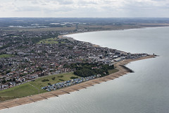 Whitstable in Kent - aerial image