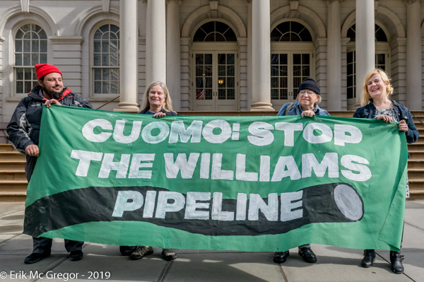 Call on Cuomo and DEC to stop Williams fracked gas pipeline