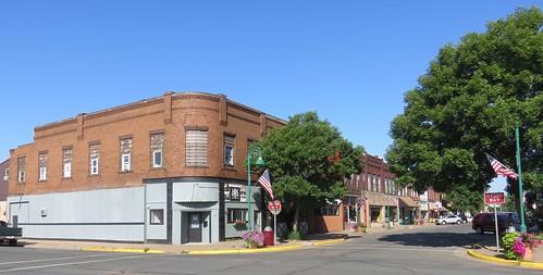 Downtown Spooner, Wisconsin