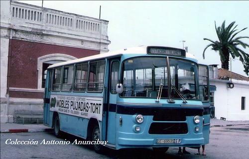 autobús Zane GI-69535 Blanes
