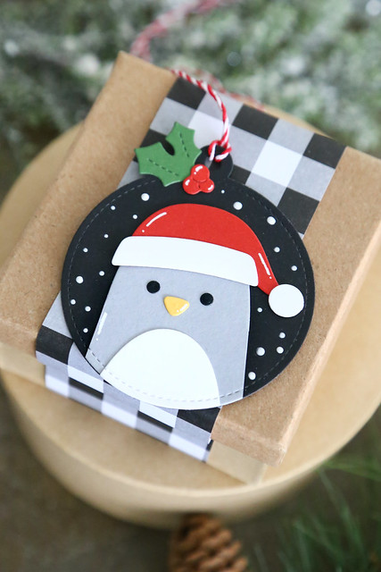 25 days of Christmas tags (Lawn Fawn)