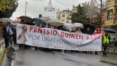 Manifestación pensionistas (Foto archivo)