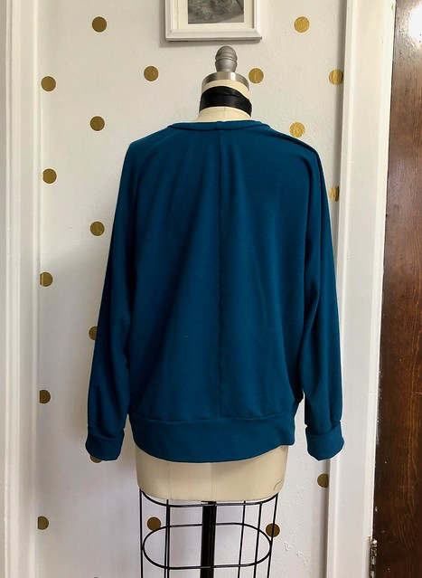Pinnacle Sweatshirt made with Mood Fabrics