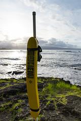 Rescue tube Big island, Hawaii