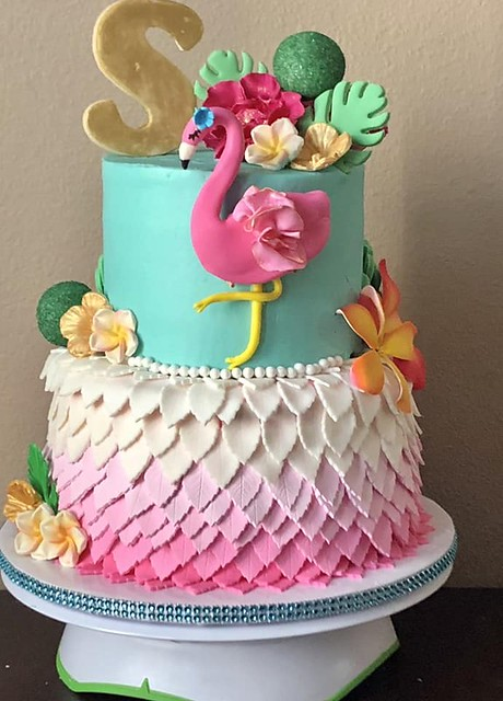 Flamingo Tropicale by Sue Schultheis of Sugar Rush Cakery and Gourmet Sweets
