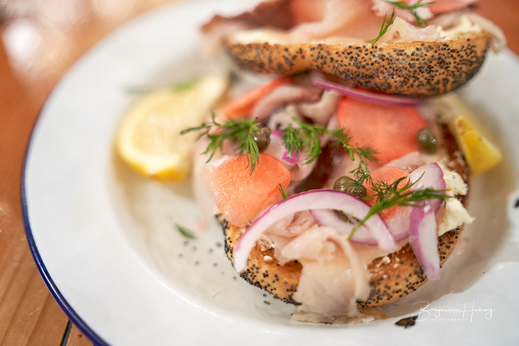 Kingfish Bagel at The Table (Adelaide Central Market)