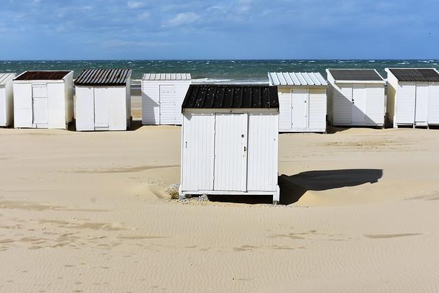 Beach Huts, Calais, France