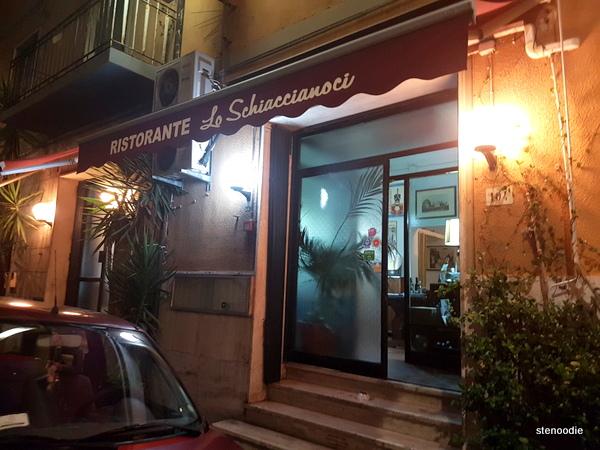Ristorante Lo Schiaccianoci storefront