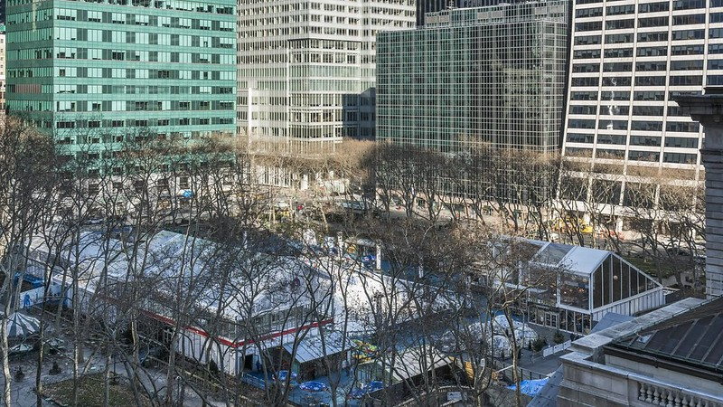 Bryant Park Skating TL 012719 UHD with music