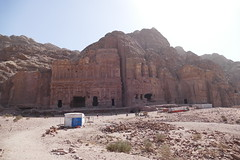 Looking at Royal Tombs in Petra (10)