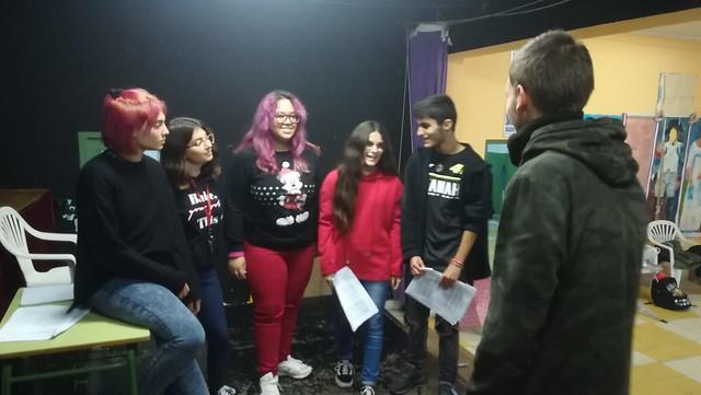 Ensayos y representaciones teatrales