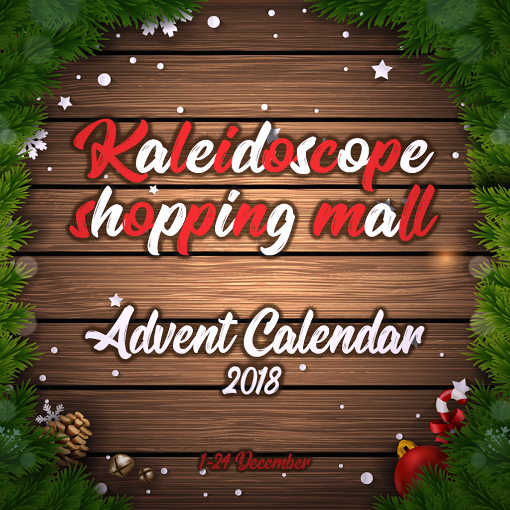 Kaleidoscope shopping mall - Advent Calendar 2018 - TeleportHub.com Live!