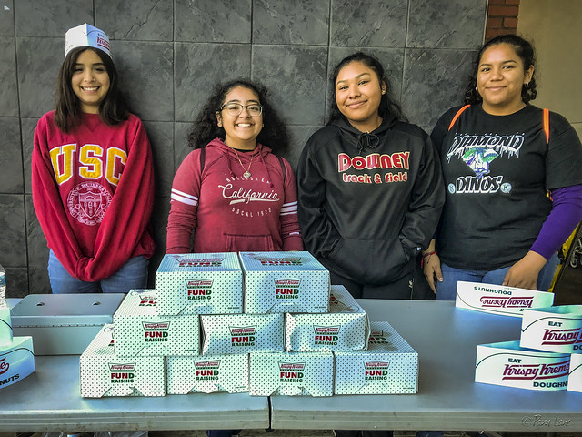 Downey High School KIWIN'S Thirst Project Fundraiser