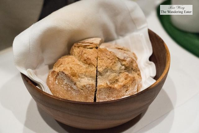 Fresh baked boule