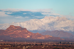 The Red Mountain & the Four Peaks