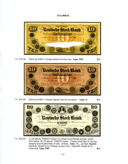 Indiana Obsolete Bank Notes sample page 1