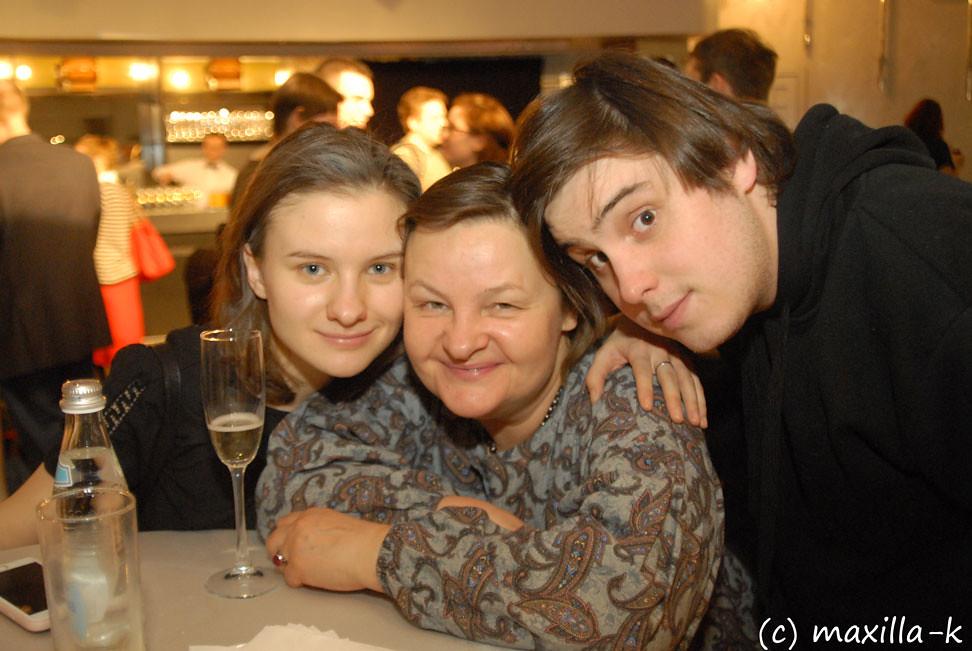 Лапшины: Маша, Ольга, Степан