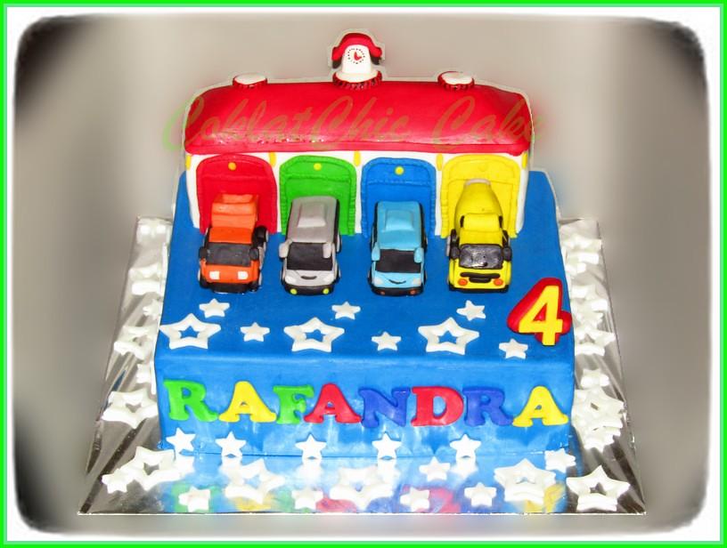 Cake Bus & Truck RAFANDRA 24 cm