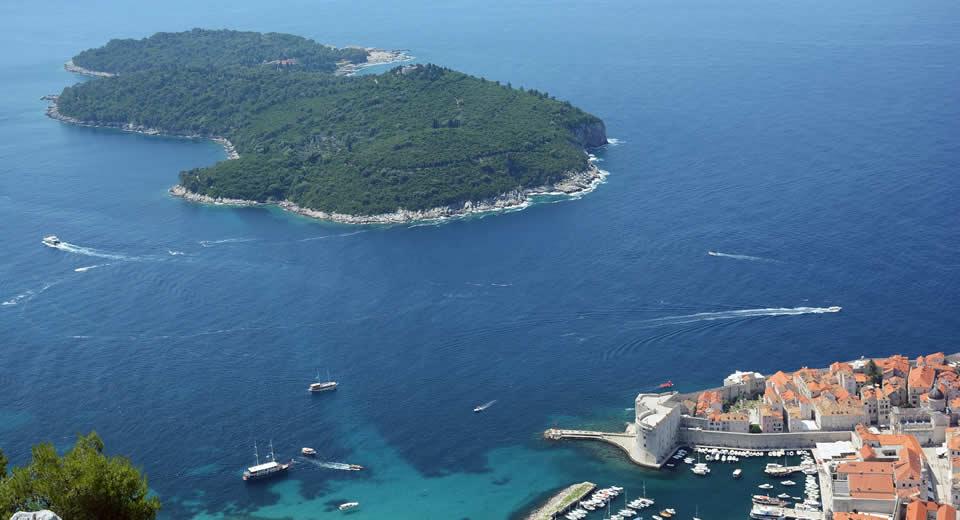 Bezienswaardigheden Dubrovnik: eiland Lokrum | Mooistestedentrips.nl
