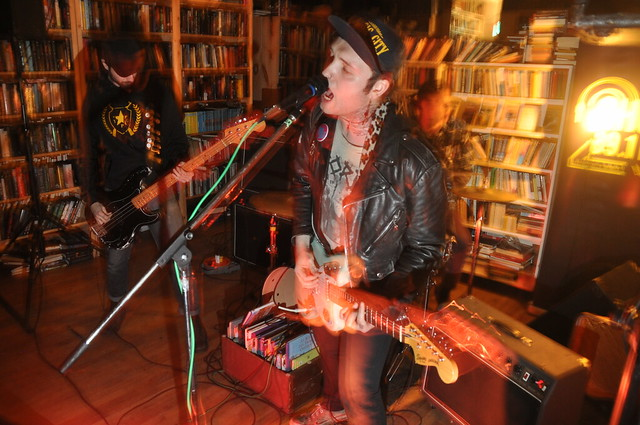 Isolation Party at Black Squirrel Books