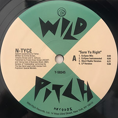 N-TYCE:SURE YA RIGHT(LABEL SIDE-A)