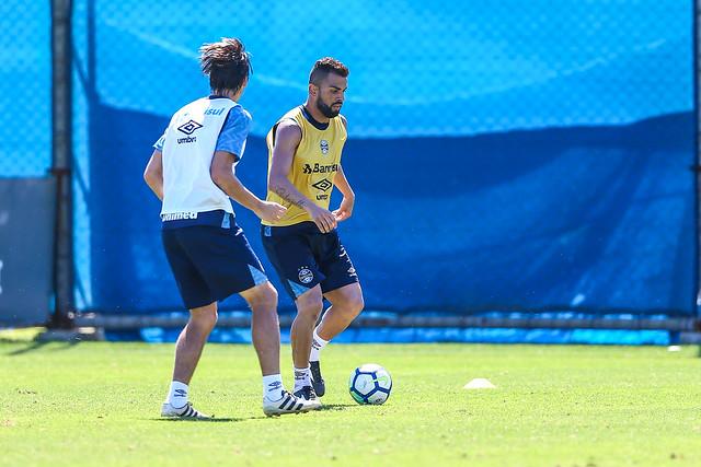 Treino Grêmio 09/11/2018