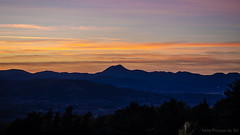 Sunset in Auvergne - Photo of Pignols