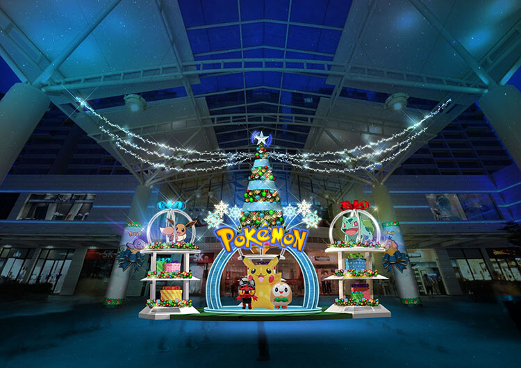Jurong Point Pokemon Christmas