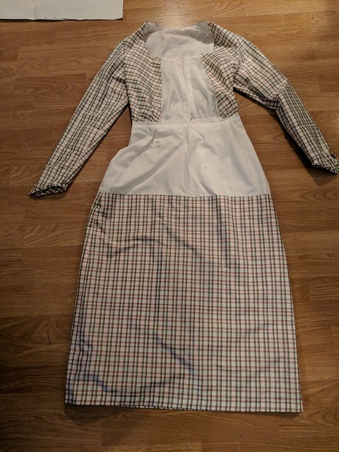 Plaid Dress Construction 2