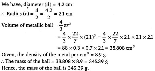NCERT Solutions for Class 9 Maths Chapter 13 Surface Area and Volumes 57