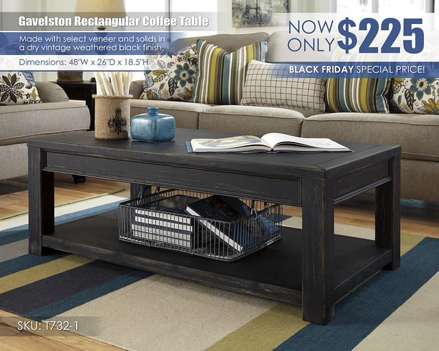 Gavelston Coffee Table Special_T732-1