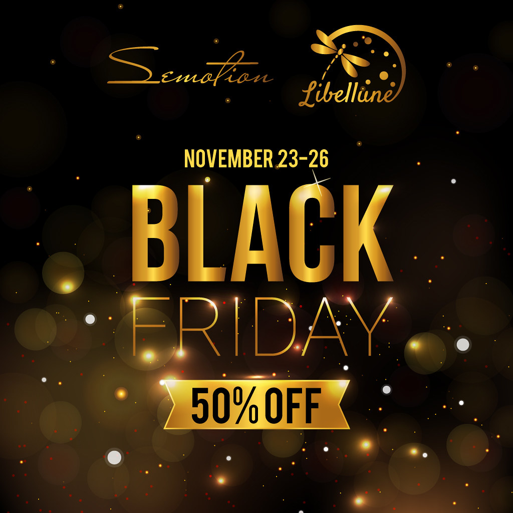 SEmotion & Libellune Black Friday Weekend! - TeleportHub.com Live!