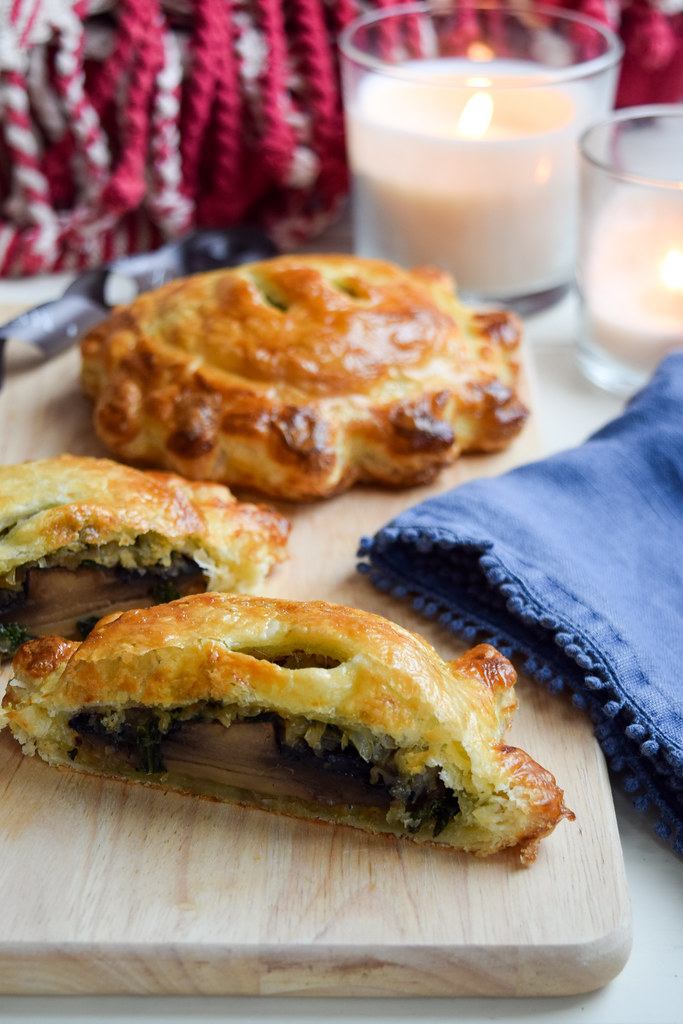 Single Serving Portobello Mushroom Wellingtons