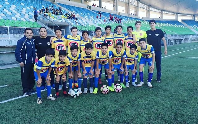 Selección Futbol S13 CAMPEON INTER REGIONAL