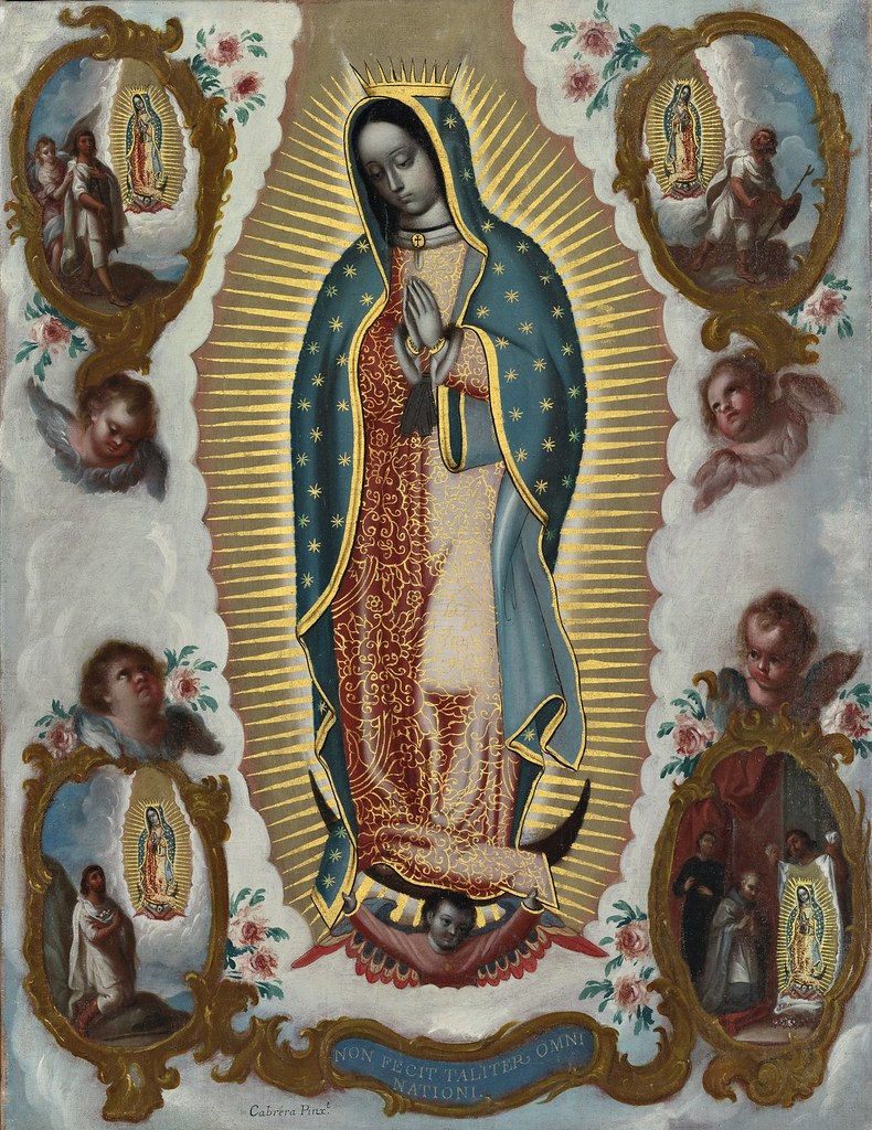 Miguel Cabrera - Nuestra Señora de Guadalupe con las apariciones