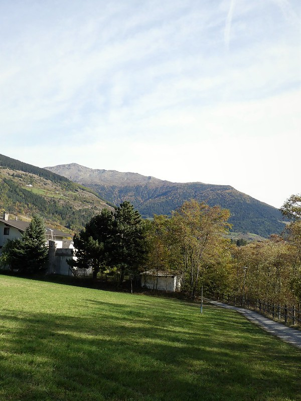 Vinschgau Südtirol - Zugfahrt