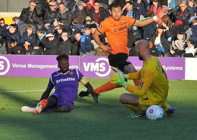 VNL: Barnet 0-2 Maidstone United