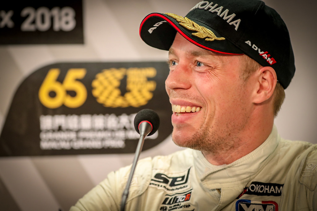 BJORK Thed, (swe), Hyundai i30 N TCR team Yvan Muller Racing, portrait during the 2018 FIA WTCR World Touring Car cup of Macau, Circuito da Guia, from november  15 to 18 - Photo Alexandre Guillaumot / DPPI