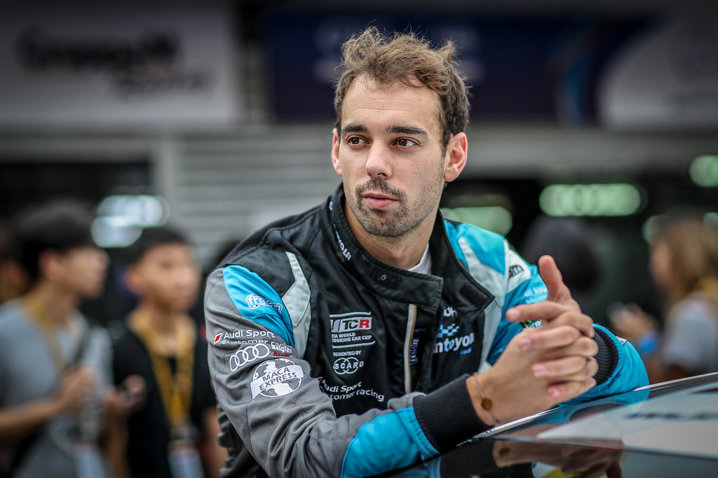 BERTHON Nathanael, (fra), Audi RS3 LMS TCR team Comtoyou Racing, portrait during the 2018 FIA WTCR World Touring Car cup of Macau, Circuito da Guia, from november  15 to 18 - Photo Alexandre Guillaumot / DPPI
