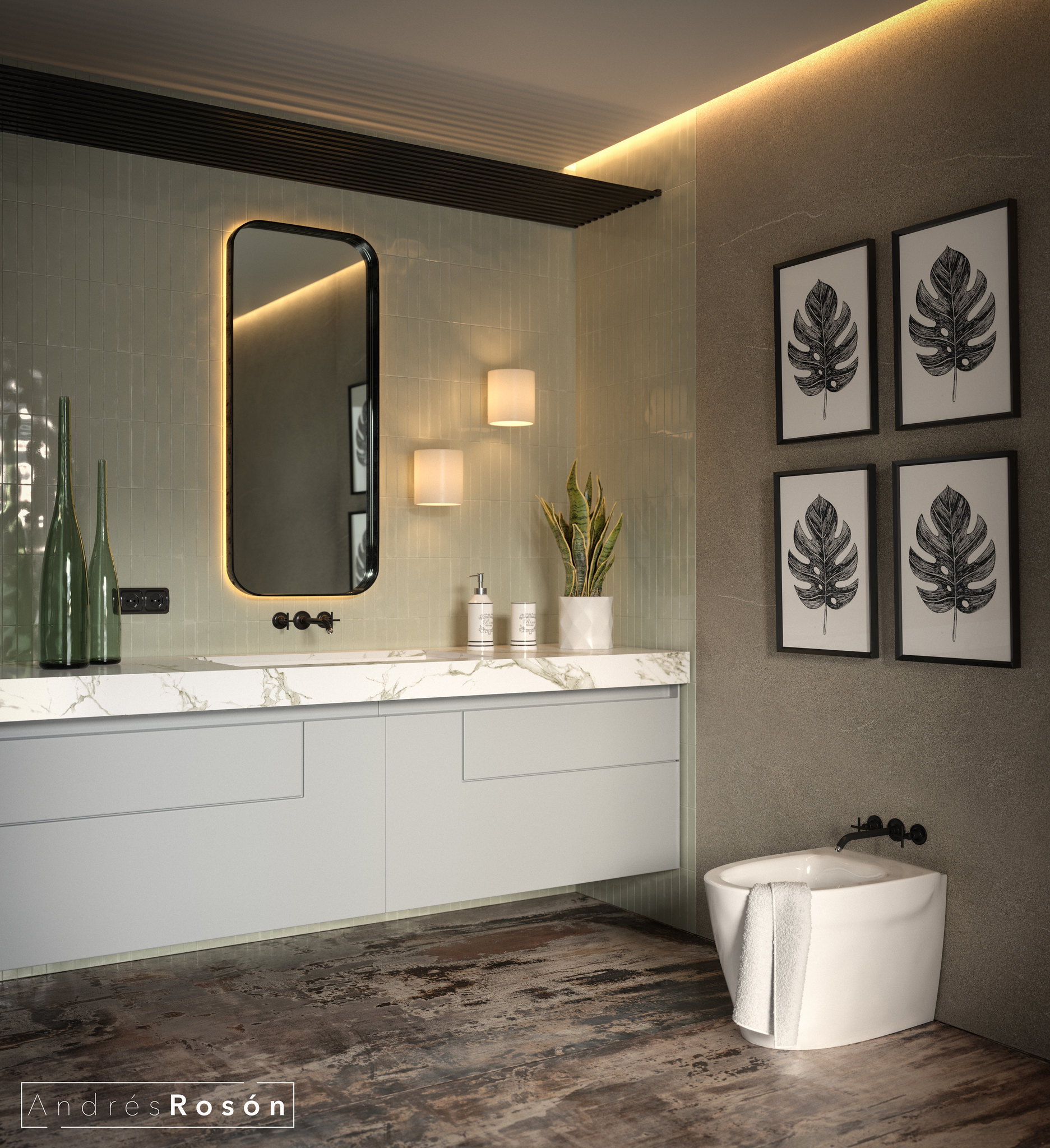 Green Bathroom_CGI