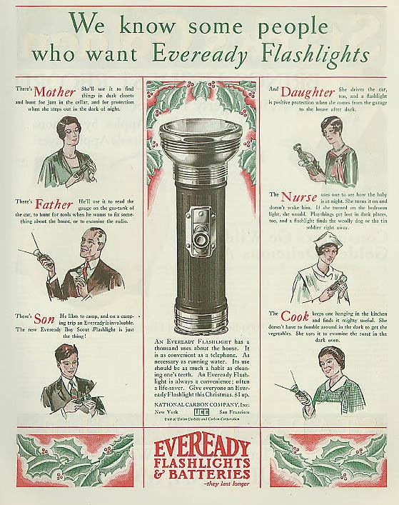 Eveready 1927